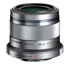 Olympus M.ZUIKO Digital ED 45mm F1.8 Micro PEN Lens Silver