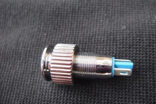 Blue Led Indicator Amplifier Speaker Power Pilot Dash Light Bulb 8mm Mount 6v-9v
