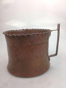 Kupfer Metallobjekte Antik Um 1900 Kupfertopf Buttertopf Mit Griff Kupfer Verziert So Effektiv Wie Eine Fee