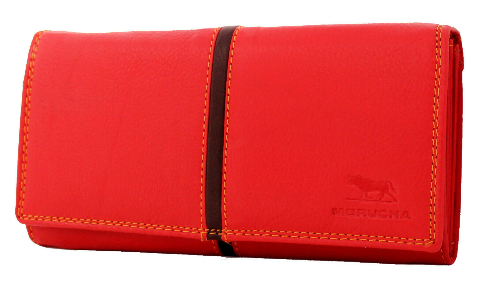 Morucha Clutch Wallet For Women Real Leather RFID Blocking High Capacity Purse
