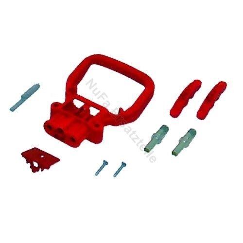 Dose REMA Batteriestecker weiblich 80A 16mm² mit festem Griff rot