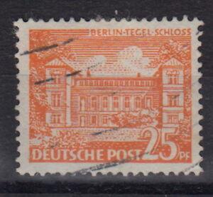 B-E-R-L-I-N-Mi-50-PF-IX-25PF-Marke-Bauten-gestempelt-MW-90-B076-1