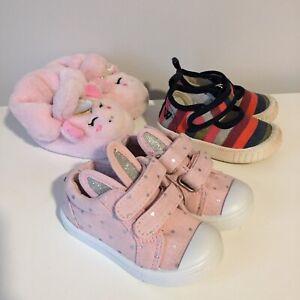 Baby Girls Toddler Shoes Bundle Size 3 - Walnut Kmart | eBay