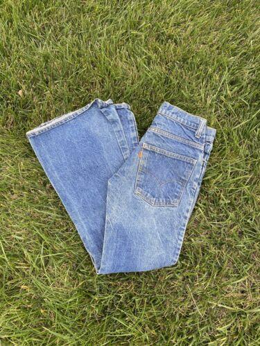 Orange Tab Levi Bell bottom jeans