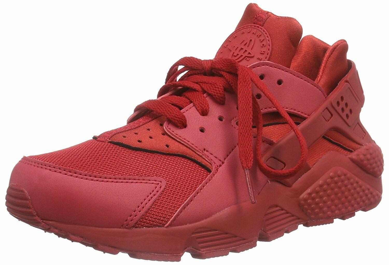 Size 9.5 - Nike Air Huarache Triple Red 2015