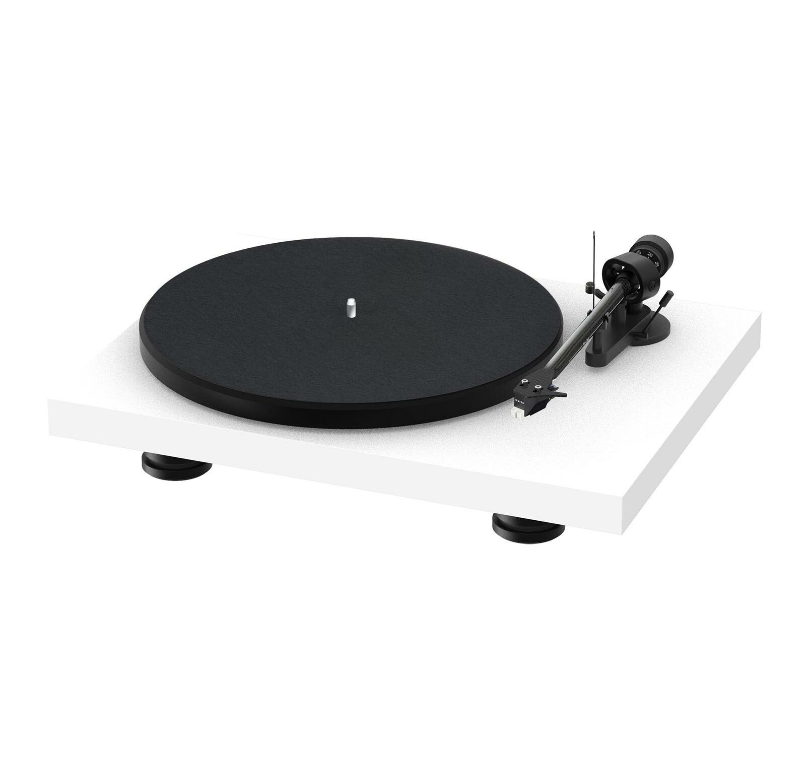 Pro-Ject Debut Carbon Evolution Satin White Turntable (Open Box). Buy it now for 448.97