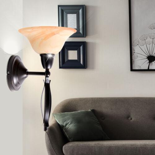 Decken Hänge Lampen verstellbar Glas Tisch Leuchten Wand Strahler bronze antik