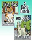 Giant Cats & Big Dogs: Coloring Book for Adults (2 Book Bundle) by Anna Belle (Paperback / softback, 2015)