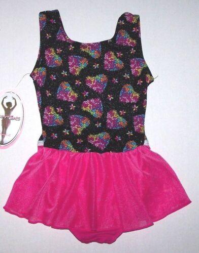 Nwt New Moret Leotard Leo Dress Skirt Spring Heart Tank Skirtall Pink Cute Girl