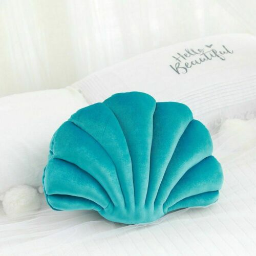 Luxury Fairy Princess Home Shell Stuffed Pillow Velvet Sofa Cushion Sea Shell
