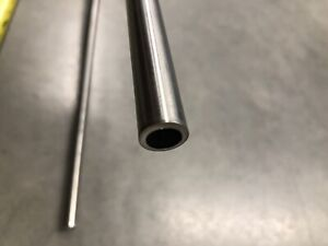 """1/"""" OD 0.065/"""" Wall Stainless 316//316L 12/"""" Length Round Tubing SMLS"""