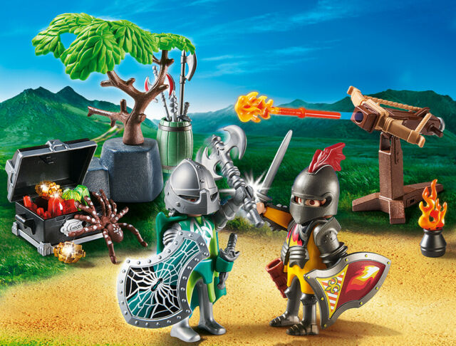 PLAYMOBIL® 70036 StarterPack fight for the Knights treasure - S&H FREE WORLDWIDE