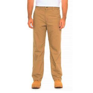 Men-039-s-WRANGLER-Cargo-Trousers-Pants-Waist-30-034-to-46-034-Lightweight-Light-Brown