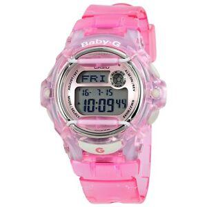 Casio Baby-G Transparent Pink Women's Digital BG-169R-4 Watch