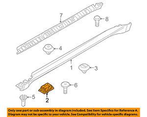 BMW-OEM-08-14-X6-Exterior-Rocker-Molding-Support-51717189259