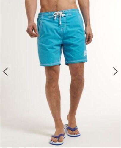 Clearance Sale-----SUPERDRY Men/'s  Cotton Boardshorts Swim Surf Beach Shorts M