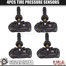 4 X Fit For 14 17 Dodge Ram 1500 2500 3500 Tire Pressure Sensor Tpms 68249197aa
