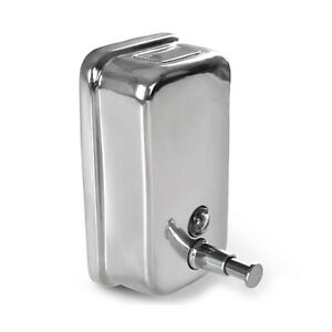 seifenspender wand montage edelstahl 500 ml seifen dosierer spender dispenser. Black Bedroom Furniture Sets. Home Design Ideas