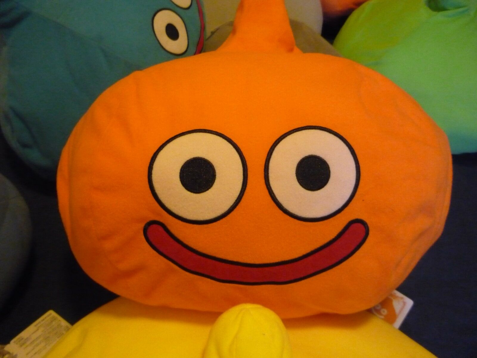 DRAGON QUEST PELUCHE/PLUSH RARE PROMO Orange SLIME 40CM ENVIRON