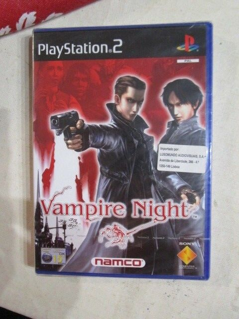 RARE PS2 PLAYSTATION  - new  Sealed RARE PAL BRAND NEW  VAMPIRE NIGHT NAMCO