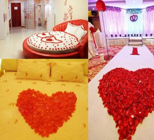 Artificial Silk Rose Petals Wedding Party Table Decoration Flower Vase Confetti