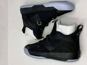 pretty nice 93436 e0199 Image is loading Nike-Air-Jordan-XXXIII-33-034-Blackout-034-