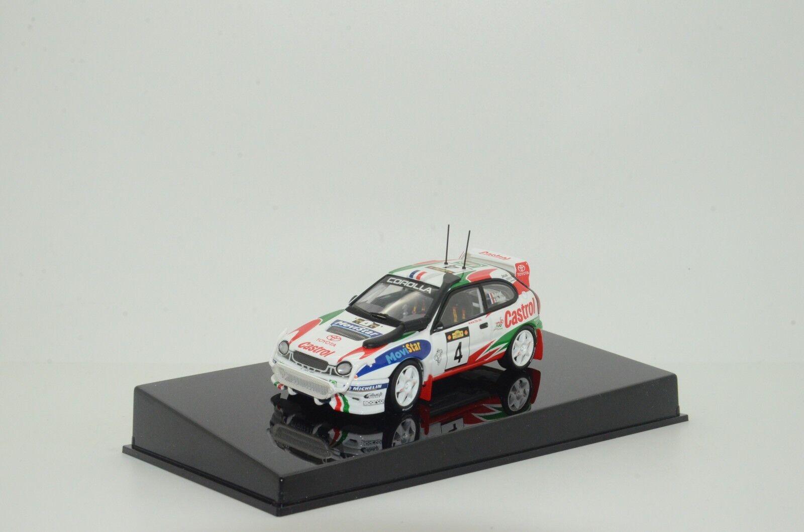 RARE     Toyota CGoldlla WRC D.Auriol 1999 AutoArt 69981 1 43