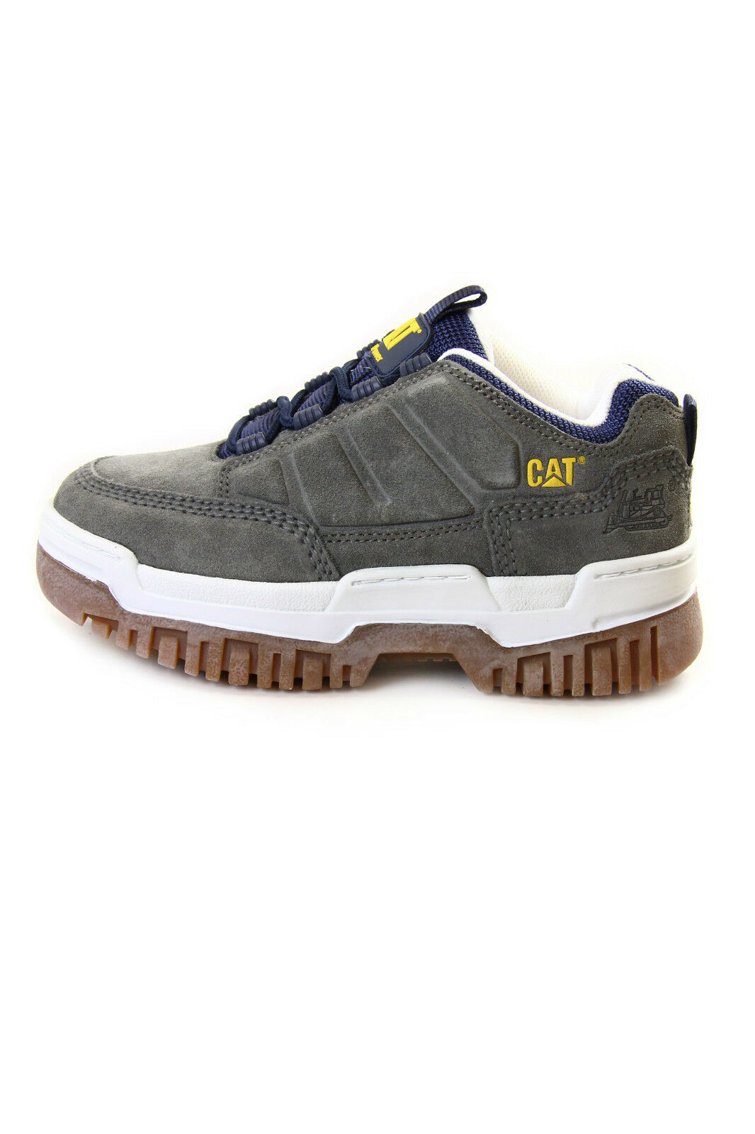 Caterpillar Riser Suede Sneakers Black, Grey, Light Grey and Charcoal