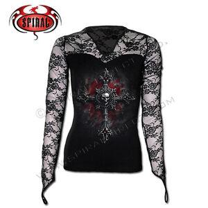 SPIRAL DIRECT VAMP FANGS L/S Lace Glove Viscose,Goth ...