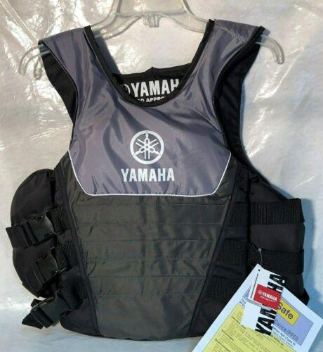 YAMAHA SIDE ENTRY LIFE JACKET MAR-15VSE-GY-SD GREY S//M FREE SHIPPING