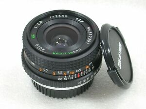 SUNACTINON-28mm-F2-8-Manual-Focus-Wide-Angle-Lens-Pentax-PK-Fit-No-842397