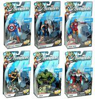 Marvel Avengers Movie Series Walmart Exclusive 6 Figure Set Hulk Hawkeye Loki