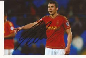 NOTTINGHAM-FOREST-ROBERT-TESCHE-SIGNED-6X4-ACTION-PHOTO-COA