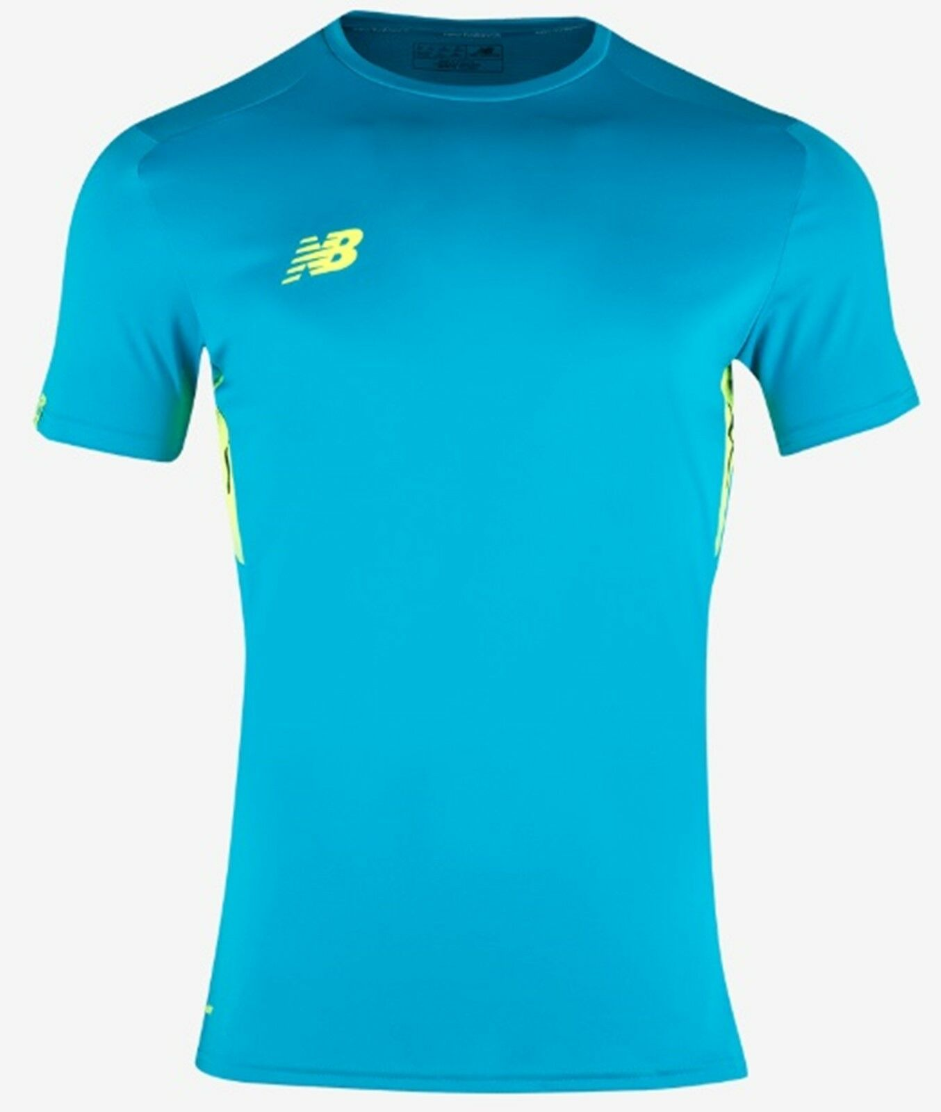 New Balance Men Elite Tech Tee Shirts Athletic bluee Top Tee GYM Jersey 8BA54150