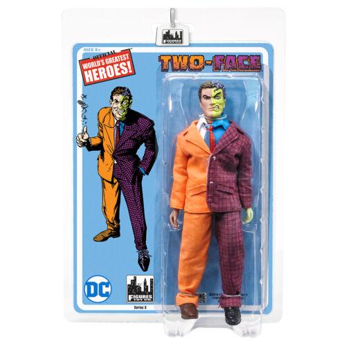 figures Batman Retro Series 5 environ 20.32 cm Two-face DC Comics style rétro 8 in