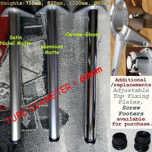 Adjustable-Breakfast-Bar-Worktop-Support-Table-Legs-710-820-1100mm-60mm-Tubes