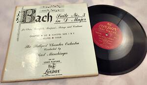 The-Stuttgart-Chamber-Orch-Munchinger-10-034-LP-Bach-London-Rare-Early-Pressing-vtg