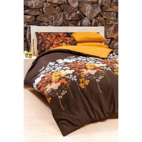 Linge de lit 4 pièces coton ranforce 200x220cm renforce braunflr hôtel linge de lit