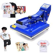 New Listing15x15 T Shirt Heat Press Machine Clamshell Sublimation Transfer T Shirt Print