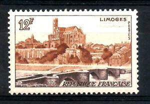 FRANCE-1955-LIMOGE-YT-n-1019-neuf-luxe-MNH