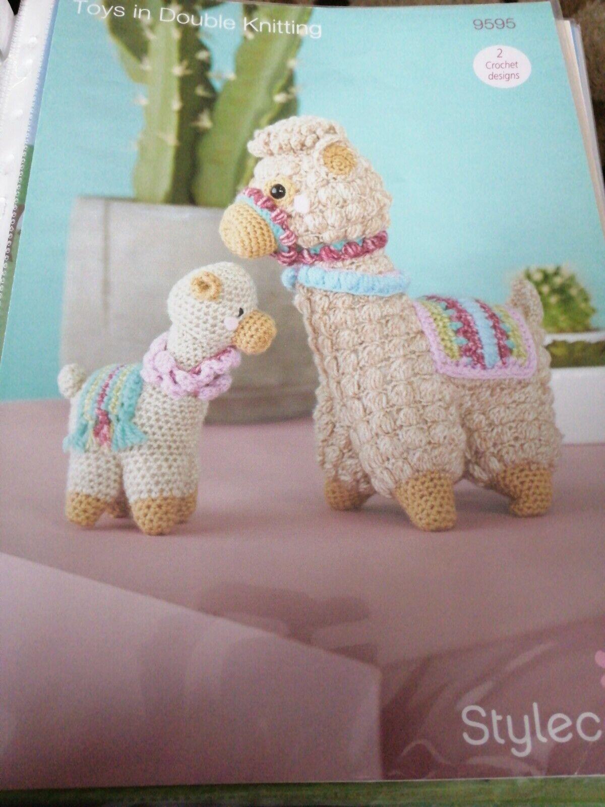 Free Amigurumi Llama Toy Softies Crochet Patterns | 1600x1200