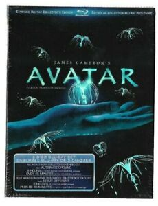 Brand-New-Sealed-BLU-RAY-3-DISC-AVATAR-James-Cameron-Also-In-French