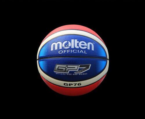 #7 Molten GP76 PU Basketball Training Standard Outdoor Basketball Ball W//Pin/&Bag