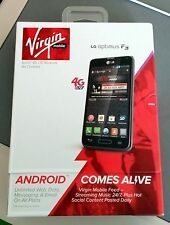 Brand New LG OPTIMUS F3 - Black (Virgin Mobile) Smartphone No Contract
