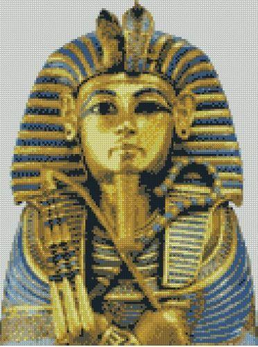 Tutankhamun Egiziano contato CROSS STITCH KIT gratis P/&P