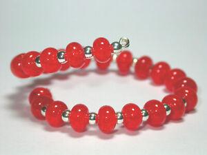 VictoriaGail-Lampworked-Beads-Deep-Orange-Tiny-Lg