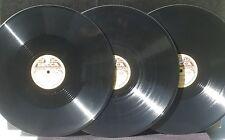 3 x 78 trs 78 RPM Stravinski / Stravinsky Oiseau de feu / Firebird Ansermet 46/7