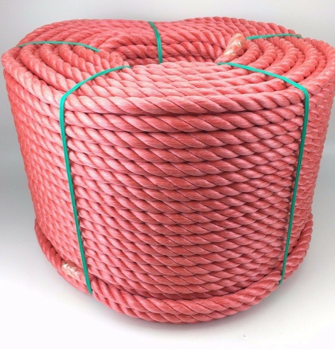 14mm Red Polypropylene Rope x 220m Coil, Red Poly Rope Coils, Polyrope