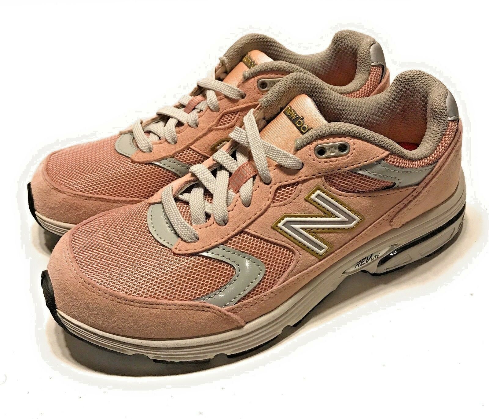 New Balance Womens 880 Running Shoes Dusty Pink Grey Gold WW880RP2 Size 6.5