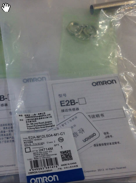 New Omron E2A-M12LS04-M1-C1 E2AM12LS04M1C1 90-Day Warranty [9b1]
